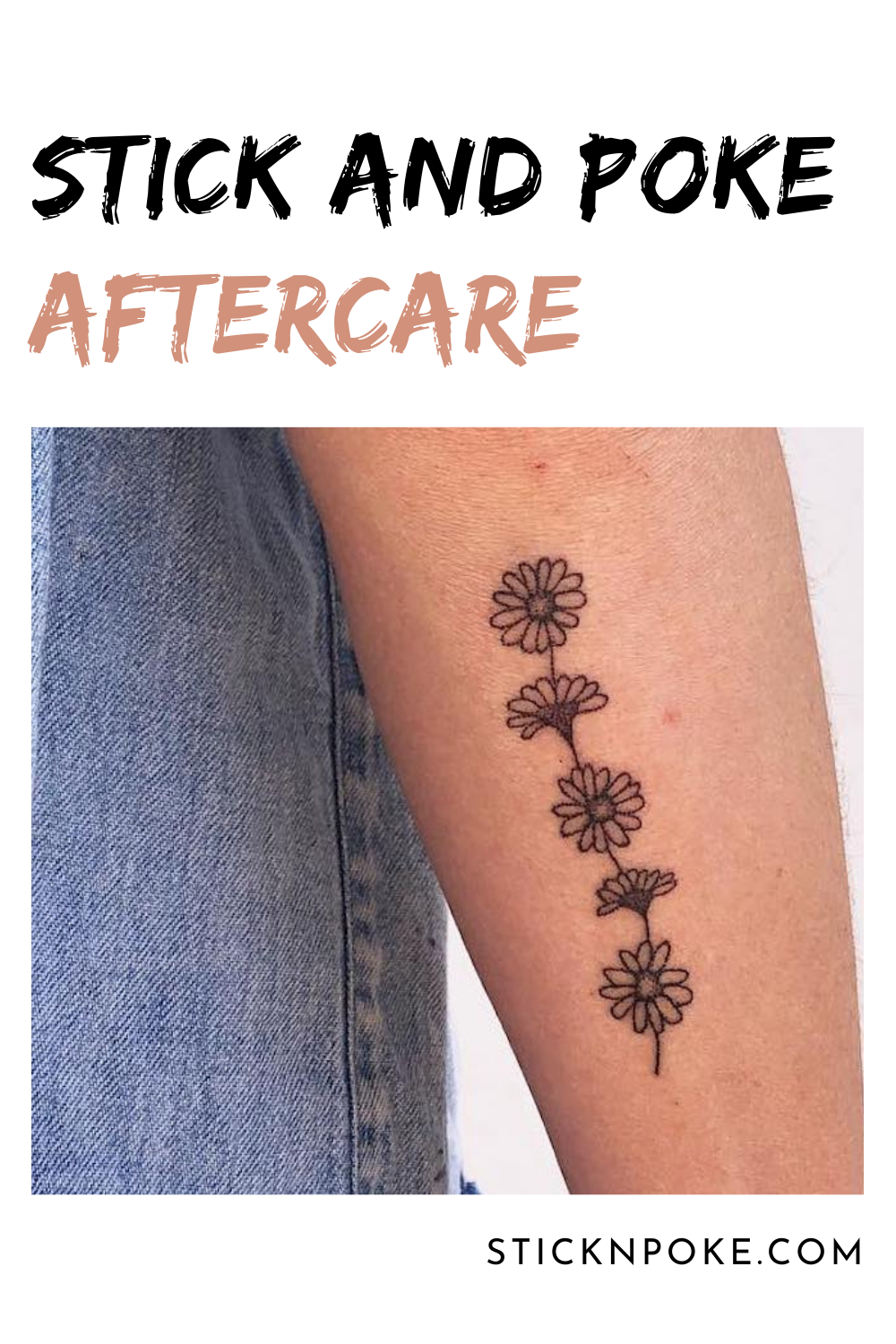 Photo of Stick and Poke Aftercare