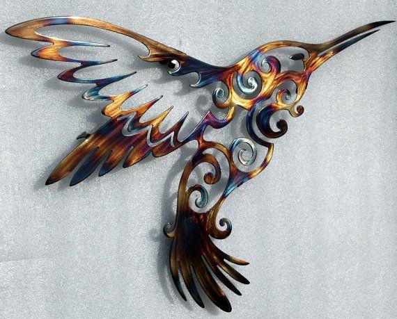 Unique Wedding Gift Hummingbird Wall Art | Cool Crap | Pinterest ...