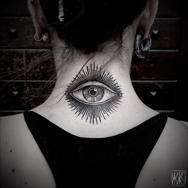 Noksi Tattoo God I Fucking Love Eyes Tattoos Pinterest