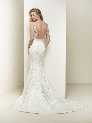 vestido de novia espalda descubierta | vestido | vestido de novia