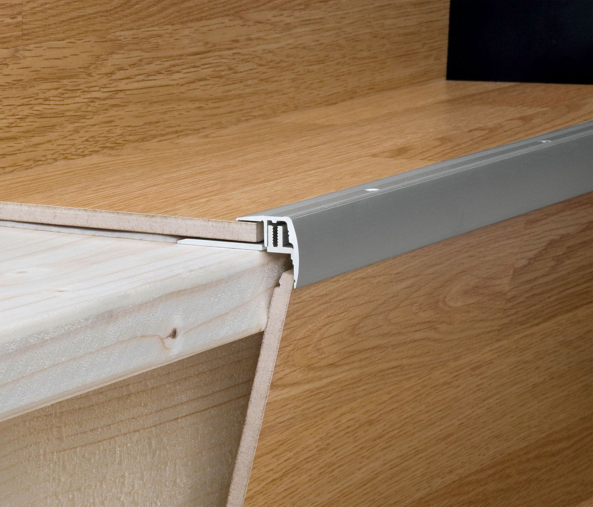 Meister Uk Universal Stair Nosings To Protect The Laminate Joints