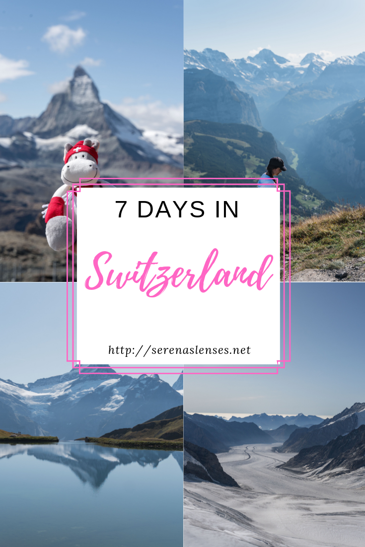 1 Week Switzerland Itinerary Things To Do In The Swiss Alps Switzerland Itinerary Switzerland Travel Europe Travel Destinations