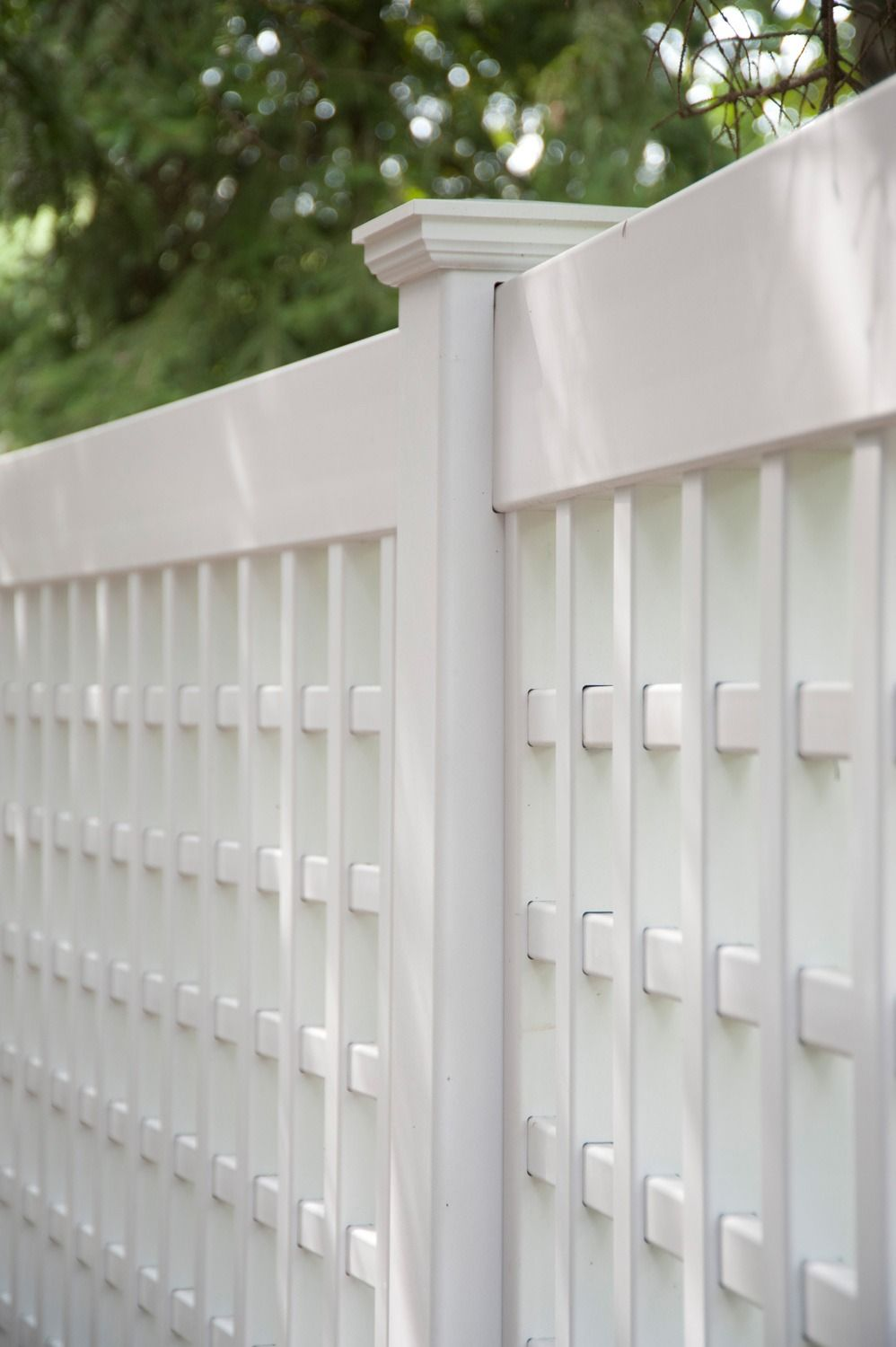 Images of Illusions PVC Vinyl Wood Grain and Color Fence | Lattice ...