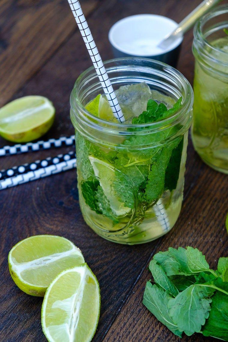 Rezept Spiced Mojito Rum Limetten Minze Soda Wasser Waseigenes Com Minze Limetten Mojito