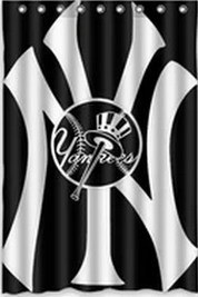 New York Yankees Shower Curtains With Images New York Yankees