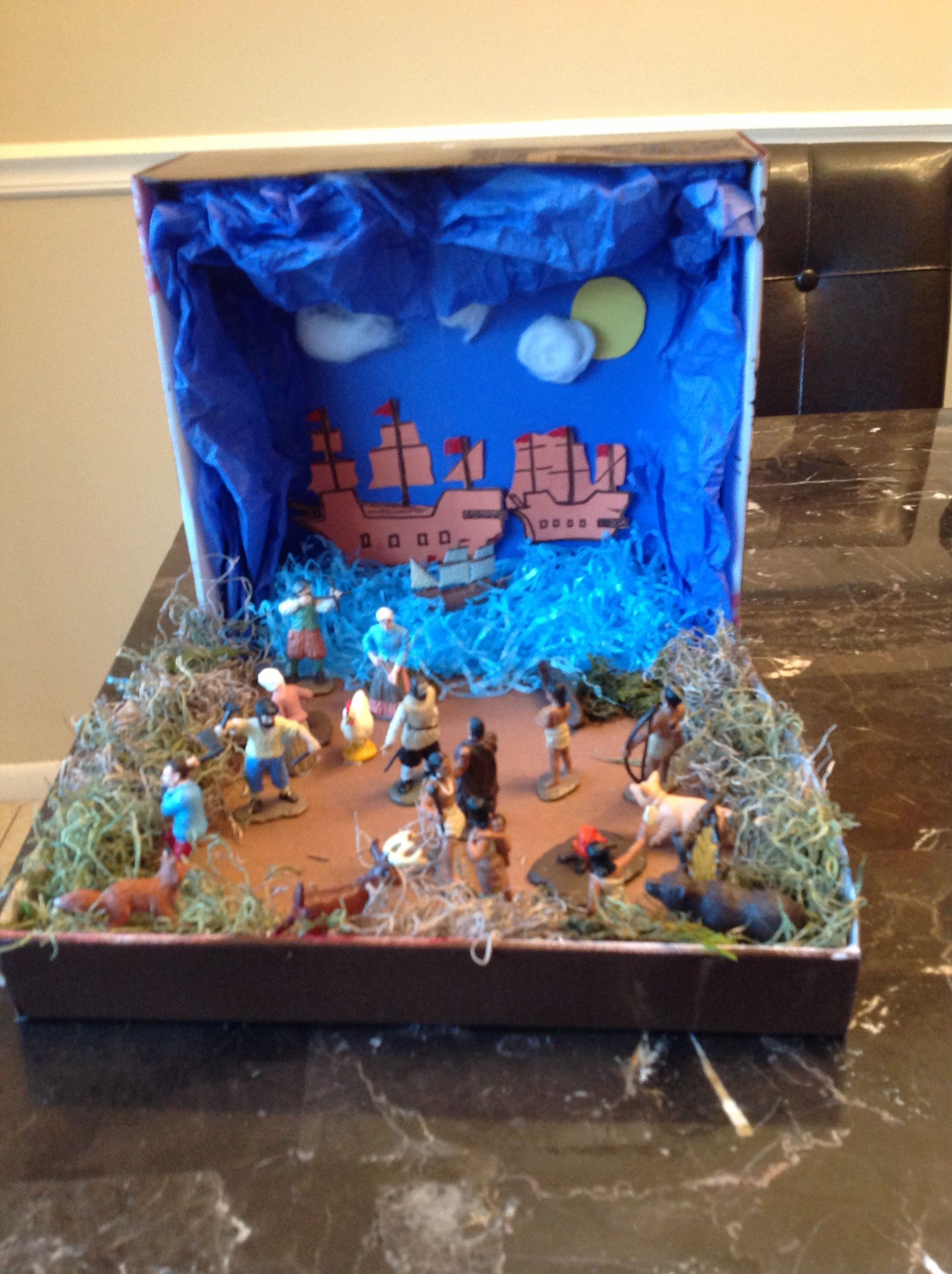 columbus diorama christopher columbus adventure to america christopher columbus adventure to america