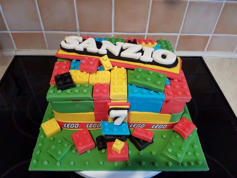 Lego Birthday Cake Julia S Home Made Cakes Pinterest