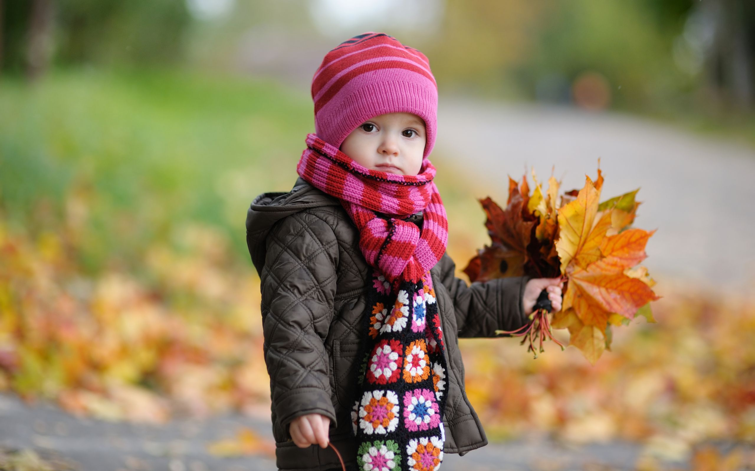 Cool Cute Baby In Autumnwide Cute Pinterest Autumn Leaves