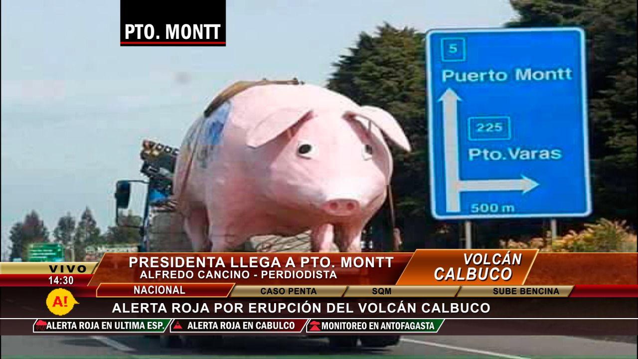 Llega la presidenta #FinDelPeriodismo #fail #TV