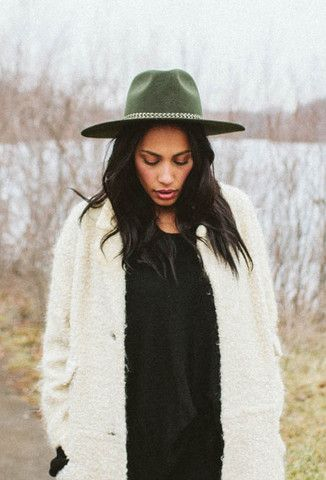 1595ac7a9e3 Leonard II Hat in Moss by Brixton at The Freedom State