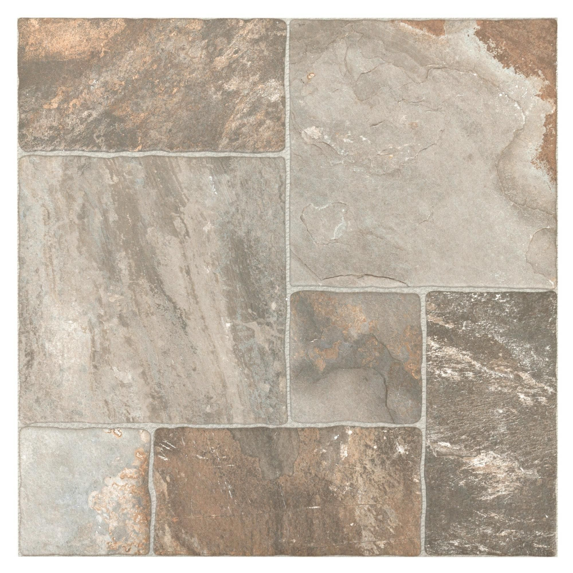 Mix Aran Stone Anti Slip Porcelain Tile Floor Decor Porcelain Floor Tiles Stone Tile Flooring Stone Look Tile
