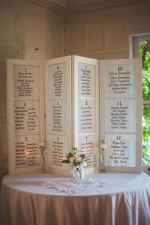Seating chart Decor/Center pieces Pinterest Seating charts