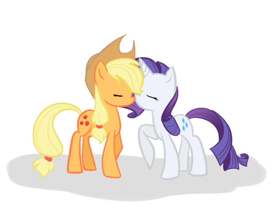 My Little Pony Friendship Is Magic Coloring Pages Fluttershy : Rarity and applejack ponies pinterest rarity pony and mlp