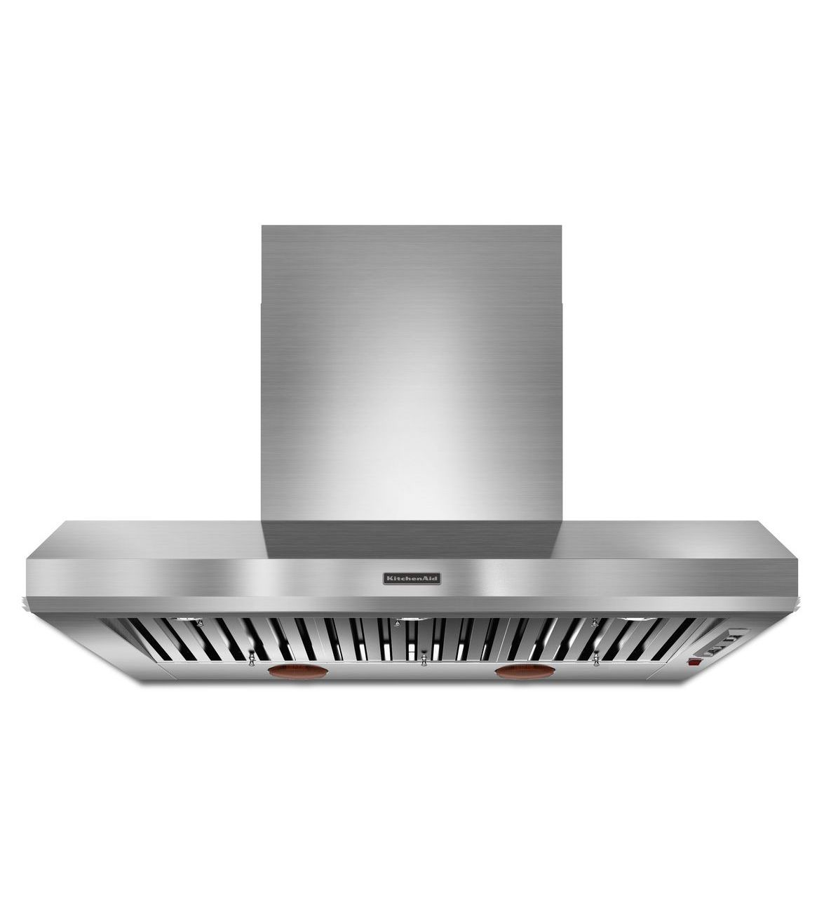 Kitchenaid 48 Wall Mount 600 1200 Cfm Canopy Hood Commercial Style Kxw9748yss Stainless Steel Range Hood Kitchen Exhaust Kitchen Aid