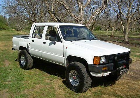 1986 Toyota 4x4 Pick Up 4 Door South African Import