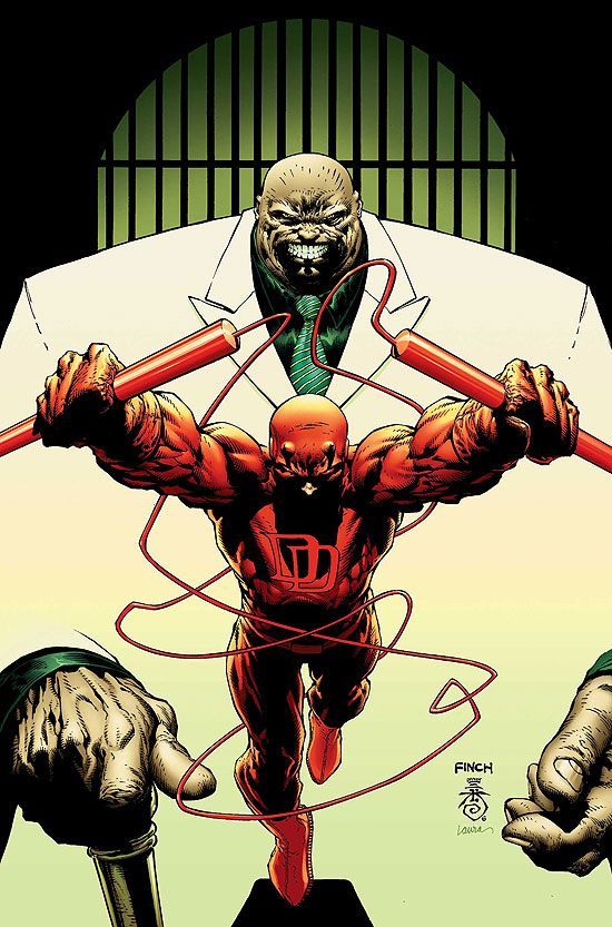 Daredevil, por David Finch