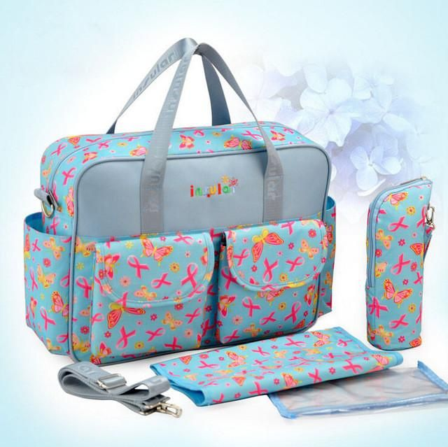 One Set Mother Bags - High Quality Bags Baby Diaper Stroller Bags for Mom 647c4b5d9bd
