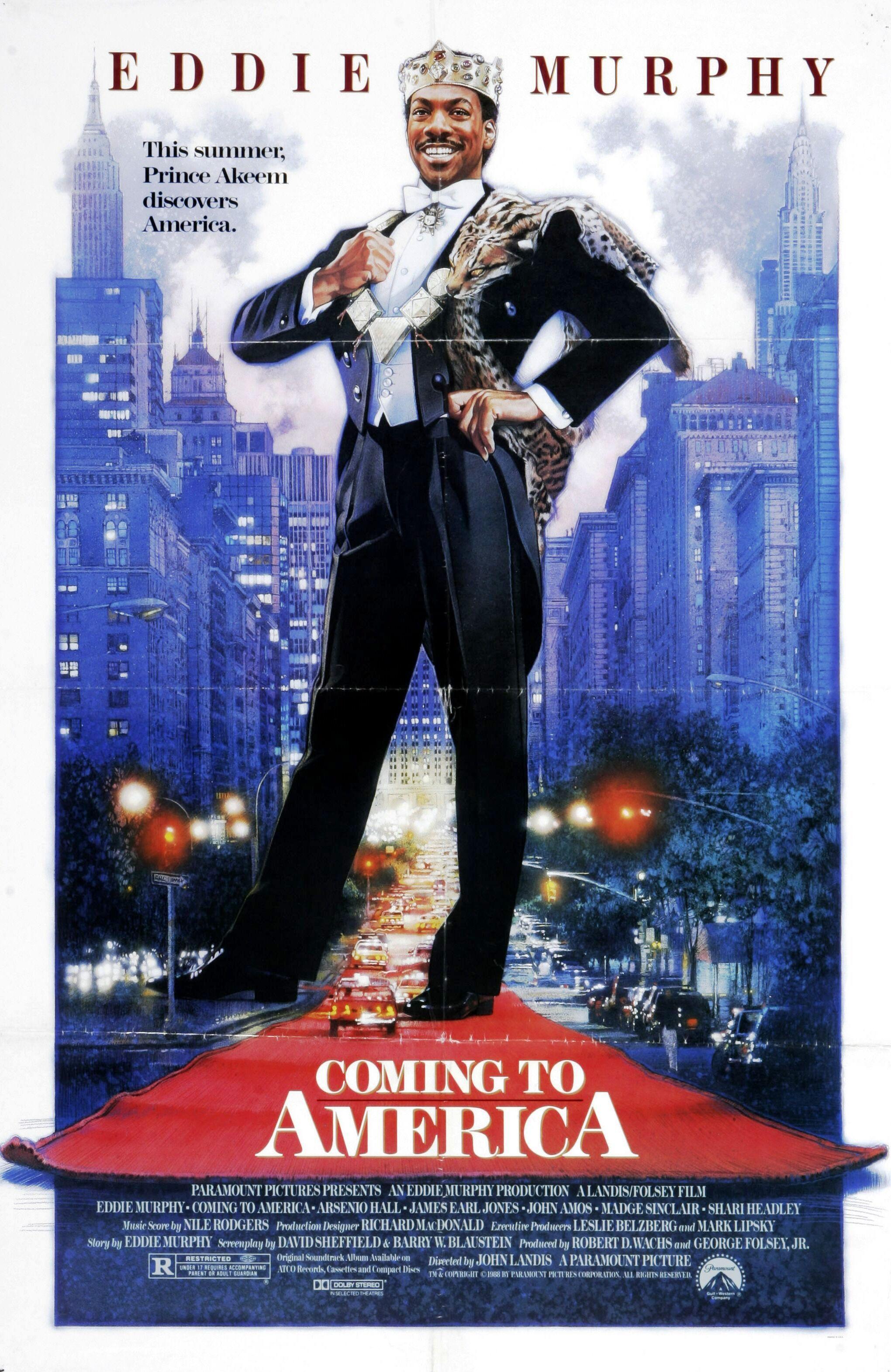 Coming To America Movie Poster Humorist Art