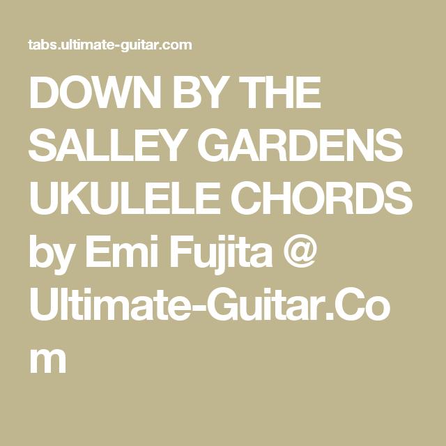 b91f89aeef4e8a7c32c99138dea155fa - Down By The Salley Gardens Chords