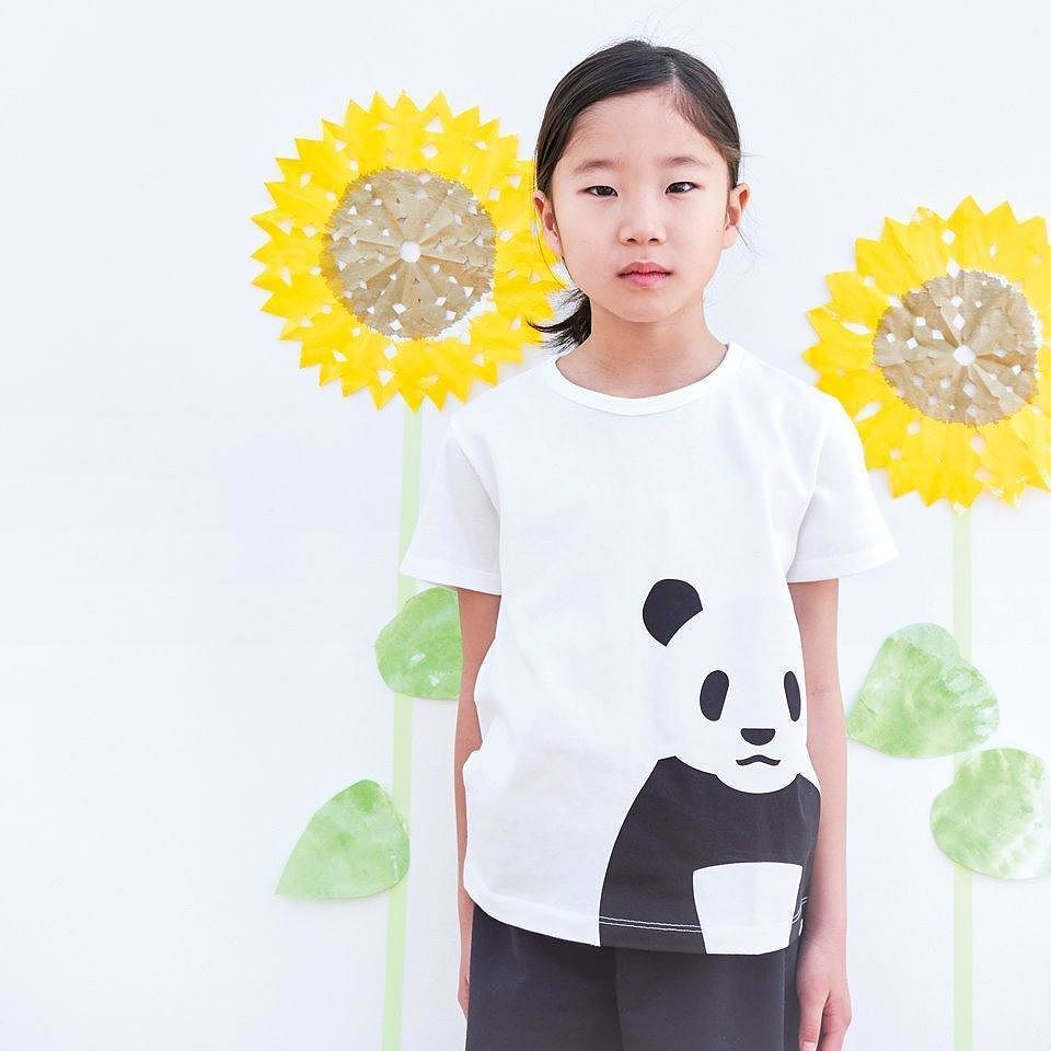 muji animal print t shirts for kids feature endangered species