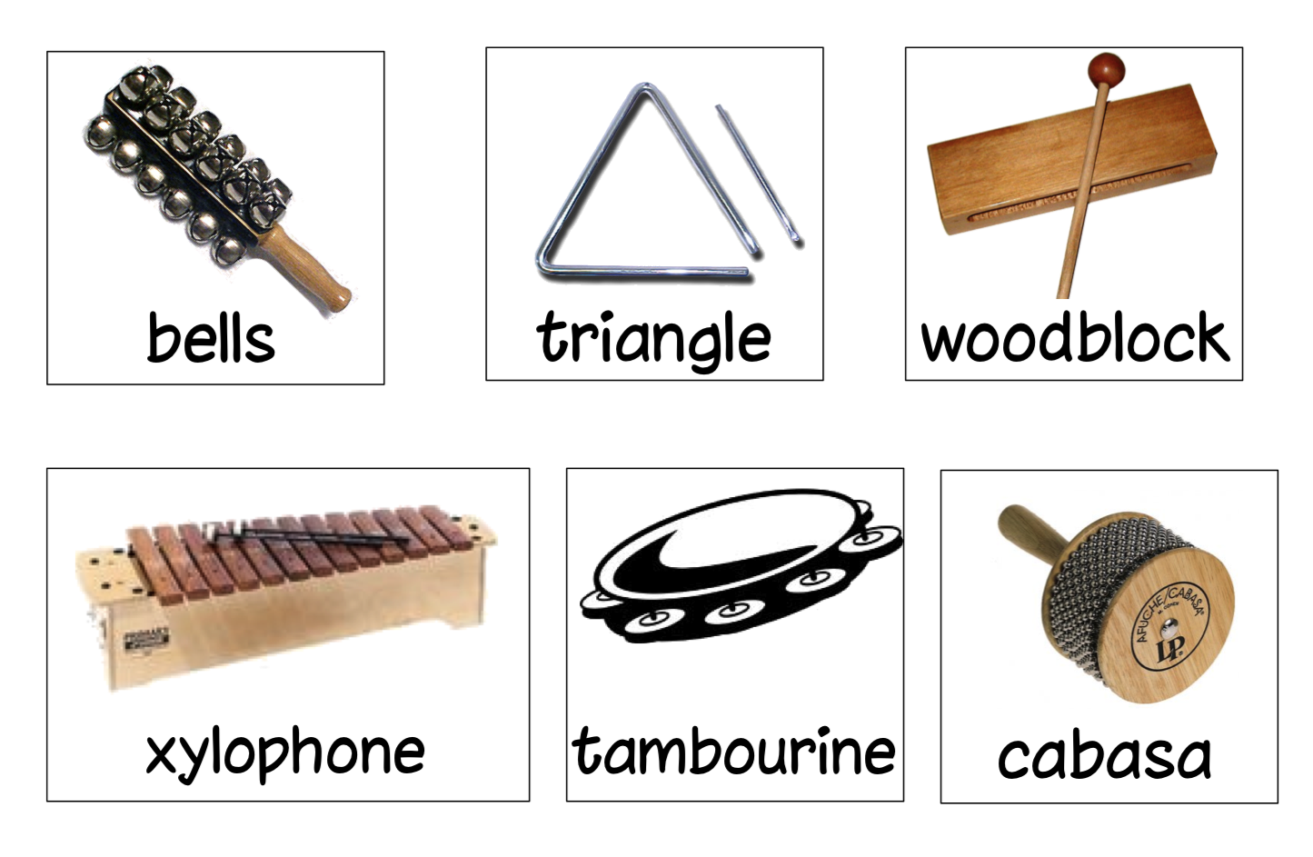 Classroom Percussion Instruments Pictures