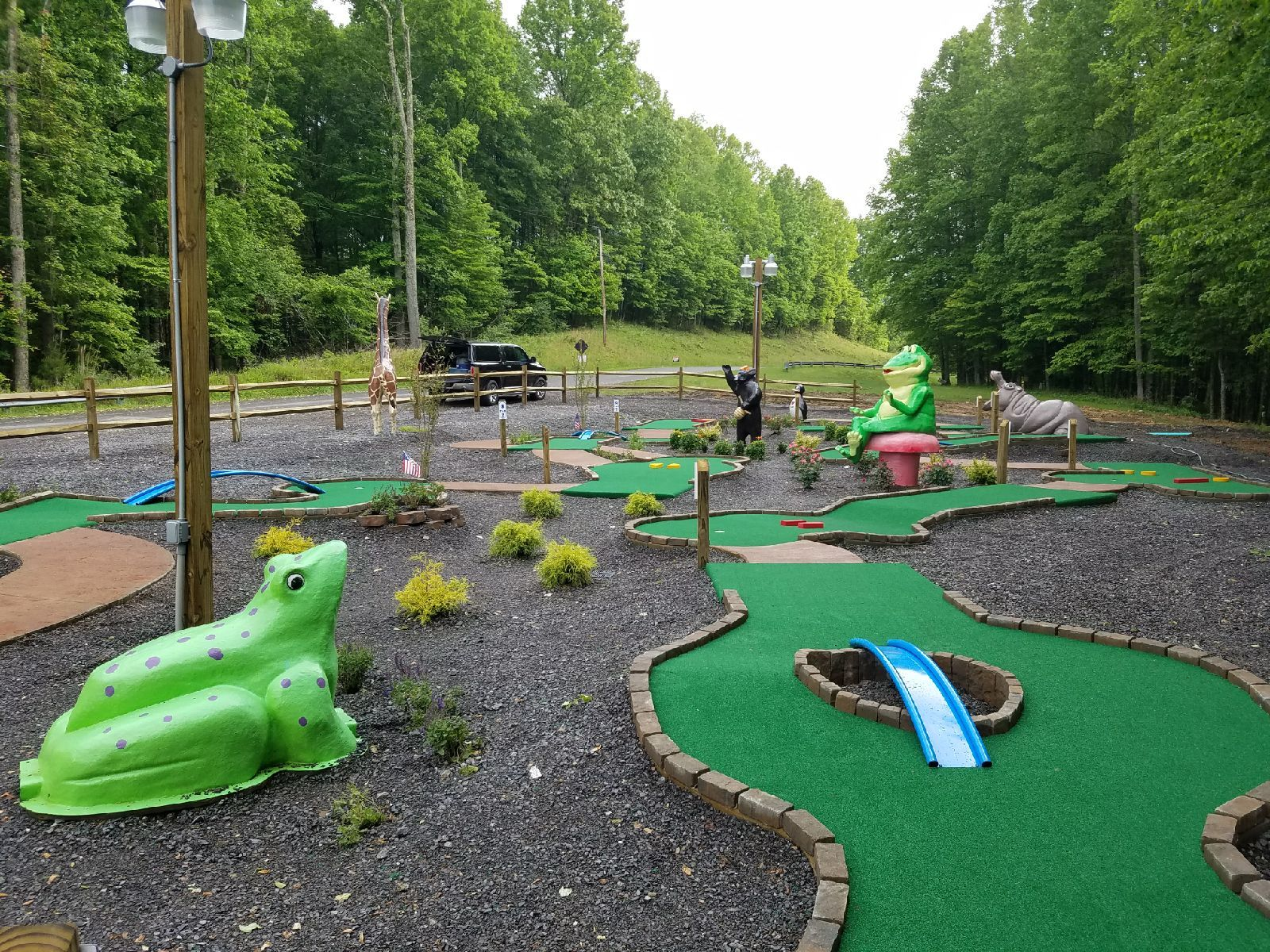 Image Result For Drawings Of Mini Golf Courses For Permits Golf Courses Mini Golf Course Mini Golf Backyard mini golf course kit