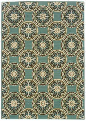 Rugs Direct Sphinx Montego 8323 Blue Ivory 8323l 6 7x9 6 219 7 10x10 10 289 Area Rugs Outdoor Rugs Oriental Weavers