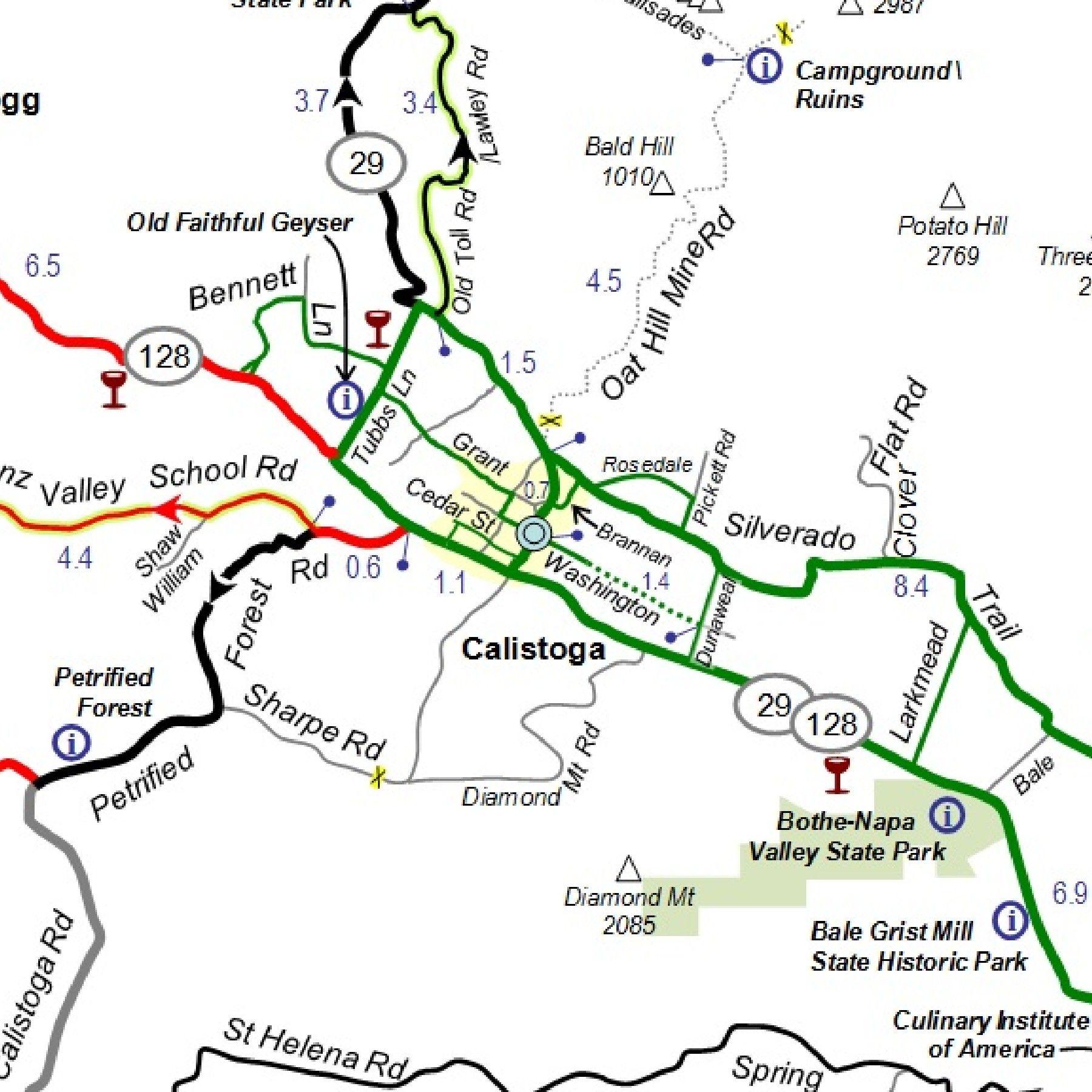 Napa Valley Bike Tours Bike Tour Bike Trips Wine Country