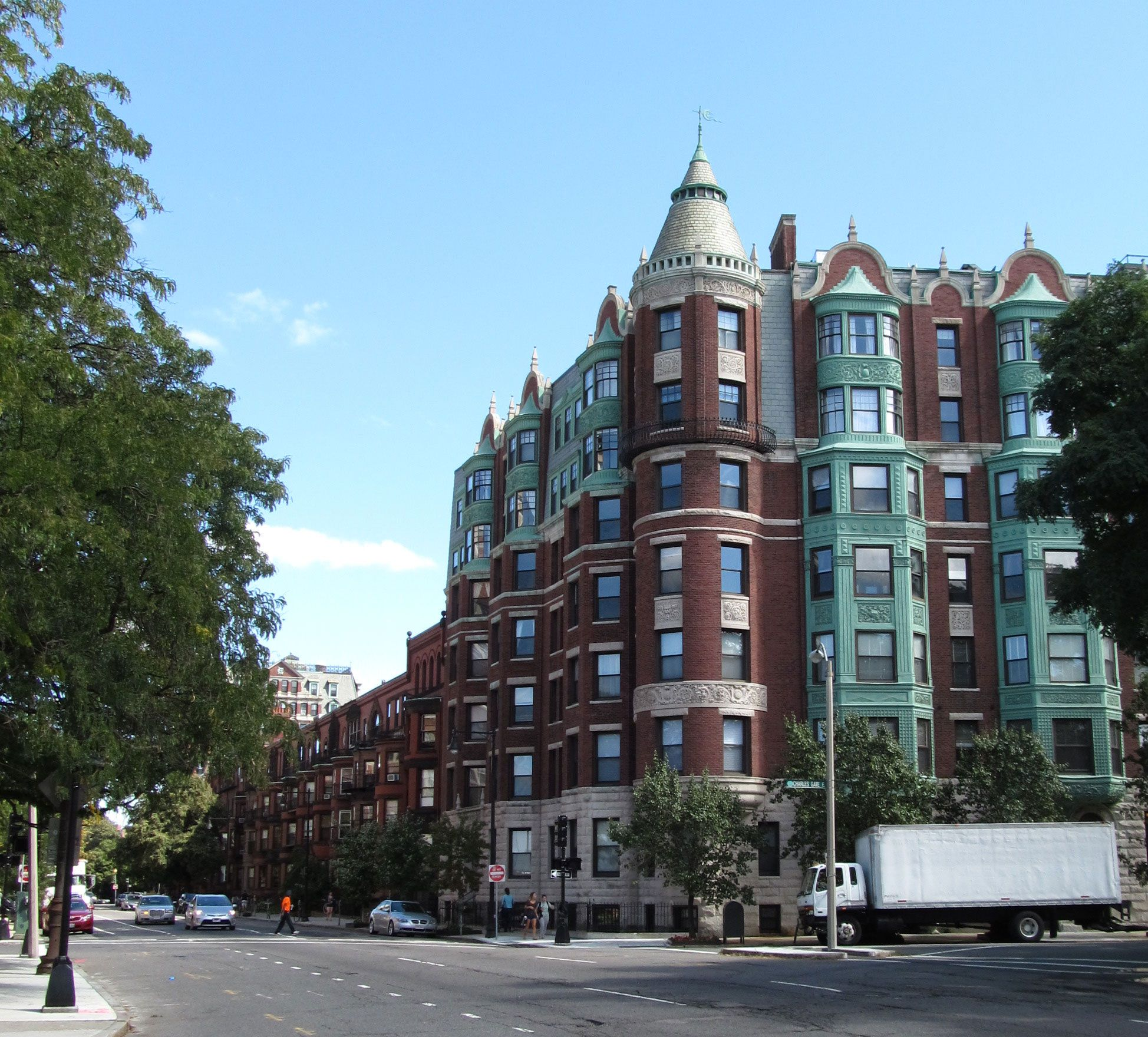 Formerly An Hotel The Charlesgate Beacon Street Boston Just East Of Kenmore Square