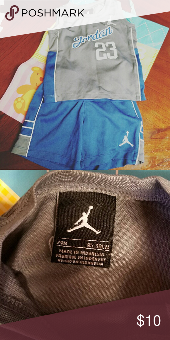 eefe83acf1314d Jordan outfit. 24 months Jordan outfit. Matching tank top and shorts. This  outfit has been used but still in great shape. Michael Jordan Matching Sets