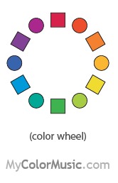 12 Intervals Of The Color Wheel Patterns Patterns Patterns