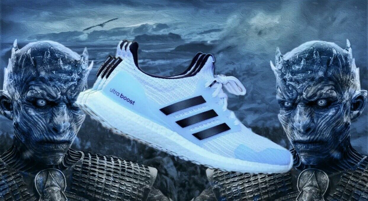 "64abc3b8b389 Adidas Ultra Boost 4.0 Game Of Thrones ""White Walker"""