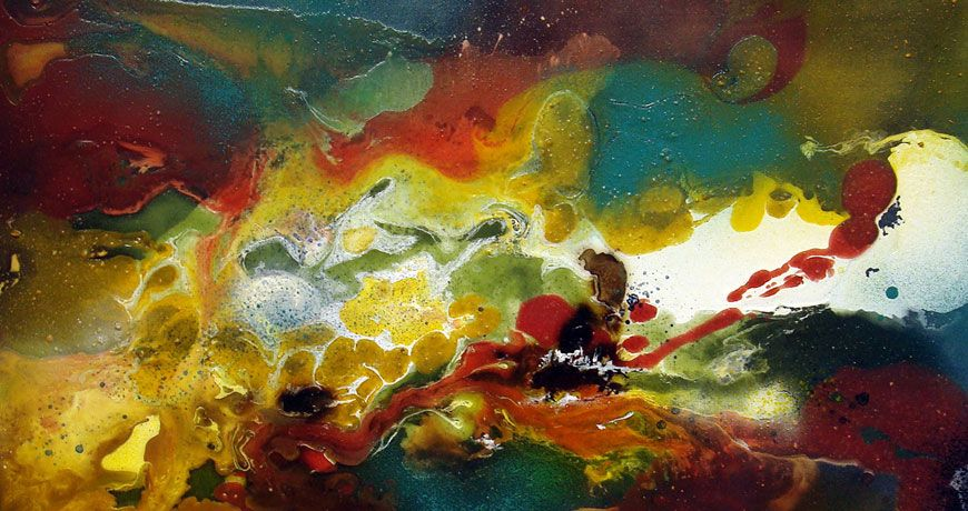 peinture abstraite peintre abstrait