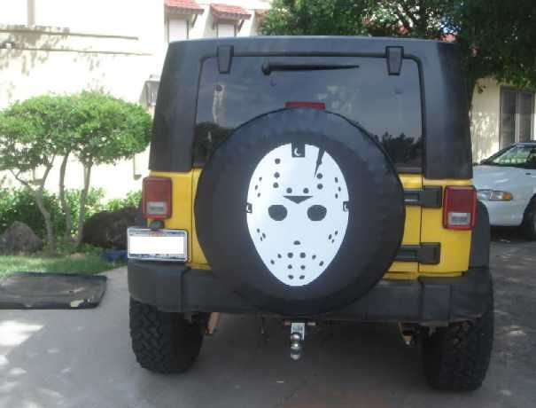 Spare Me The Top 13 Scary Spare Tire Covers Jeep Wrangler Tire