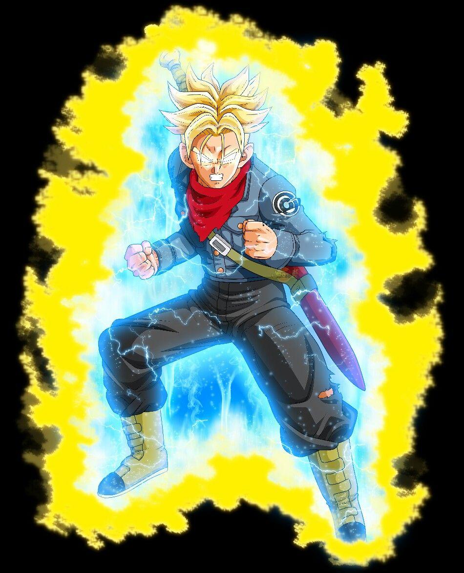 Trunks False Ssjblue Dragon Ball Super Manga Dragon Ball Gt Dragon Ball Art