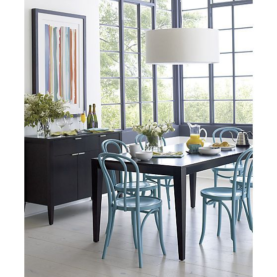 Knockoff Crate And Barrel Vienna Chair Dining Room
