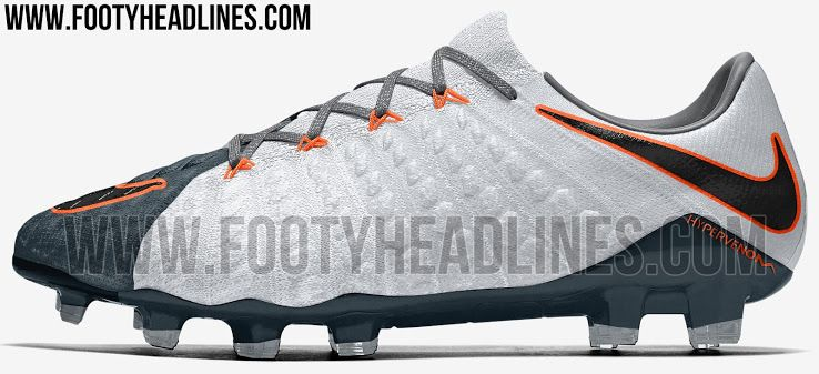 Grey Nike Hypervenom Phantom III 2017-18 Boots Leaked - Footy Headlines