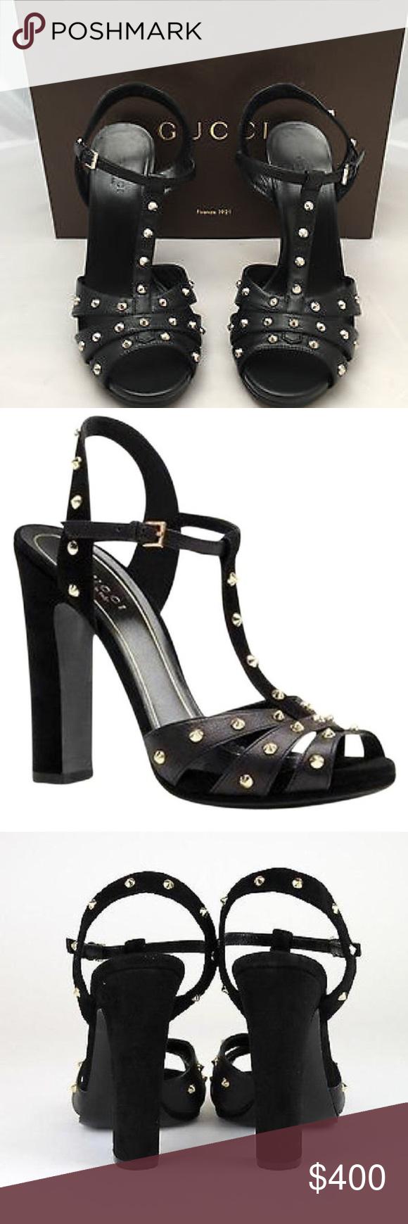 f8083ba8d77 Gucci Jacquelyn Studded Sandals Authentic Gucci