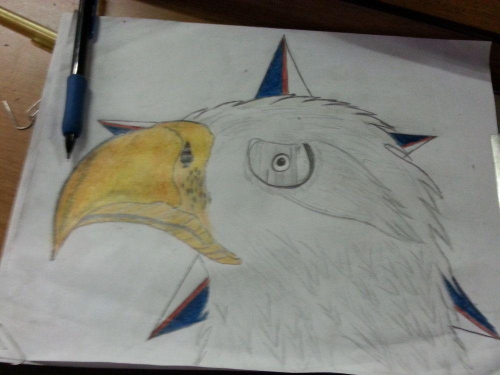 eagle eye(Mr B drawings)