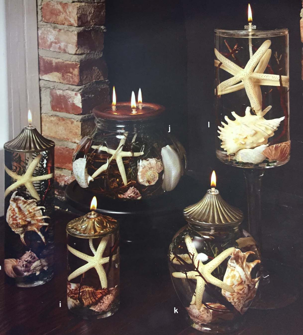 A lifetime candle seashells lifetime candles flowers