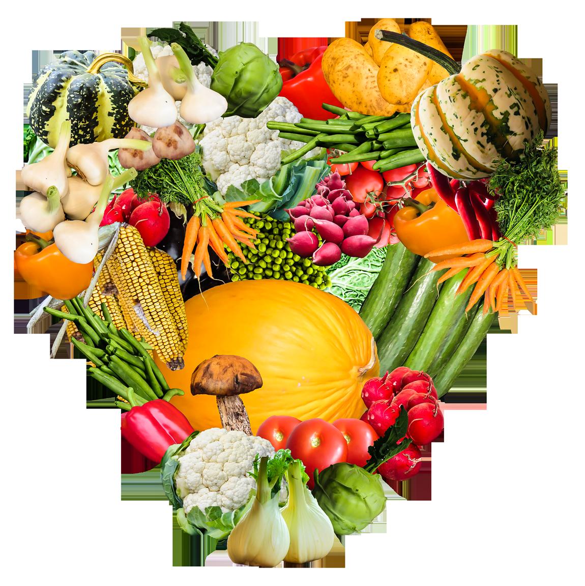 Heart Vegetables Png Image Vegetables Fresh Vegetables White Cups