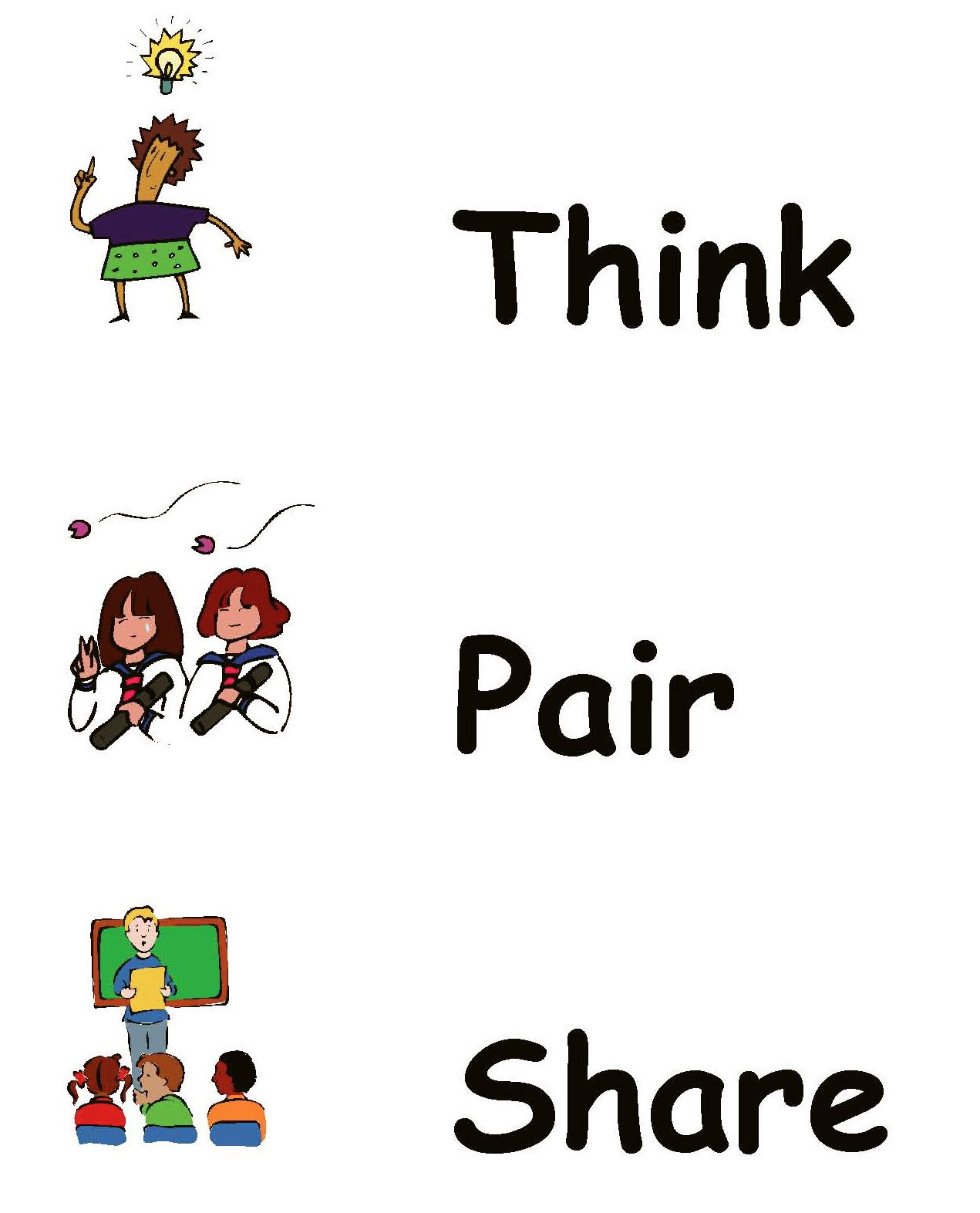 Think Pair Share Variations