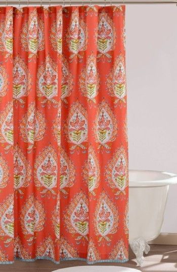 Dena Home Kalani Shower Curtain With Images Colorful Shower