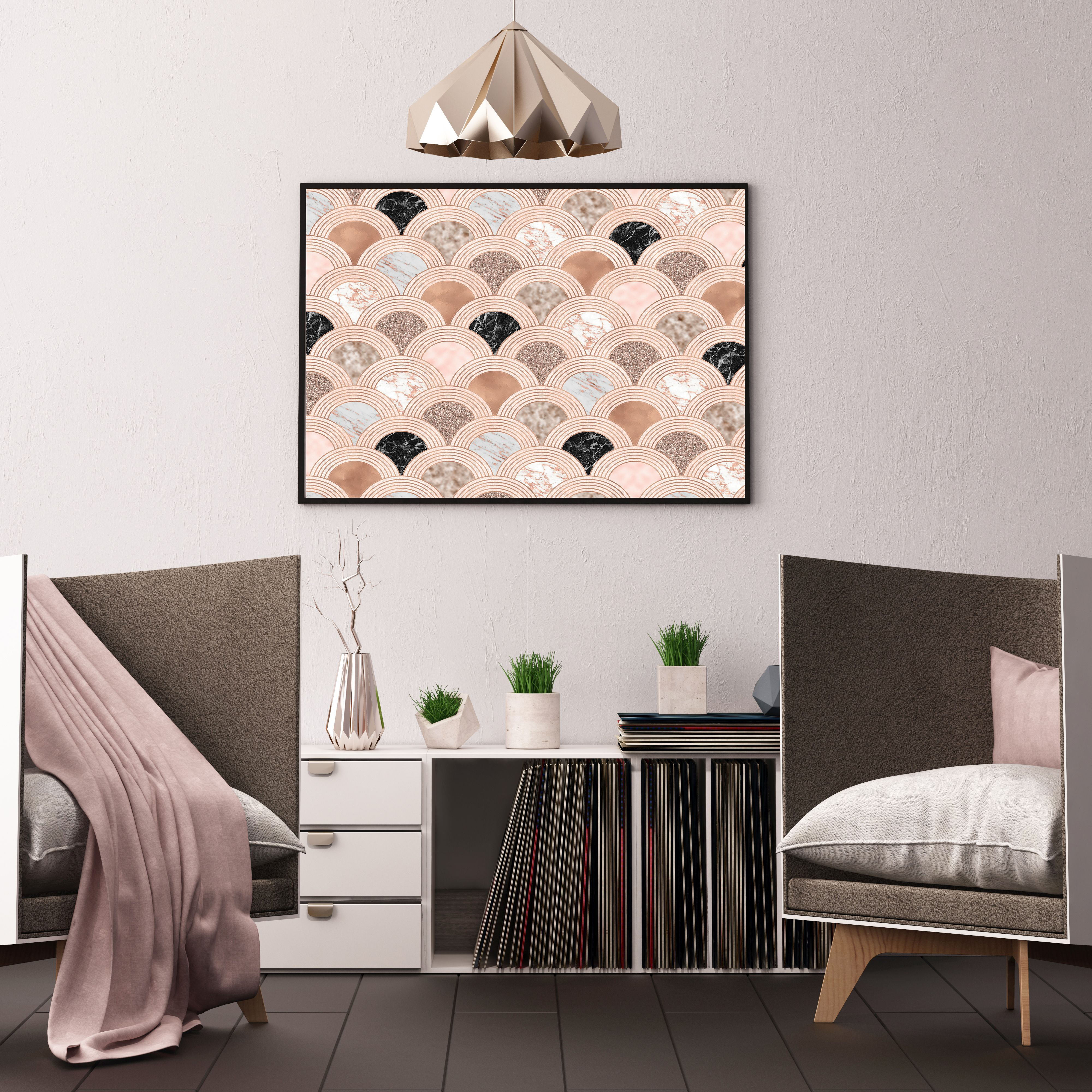 Blush, Rose Gold And Marble Art On Redbubble By Marbleco