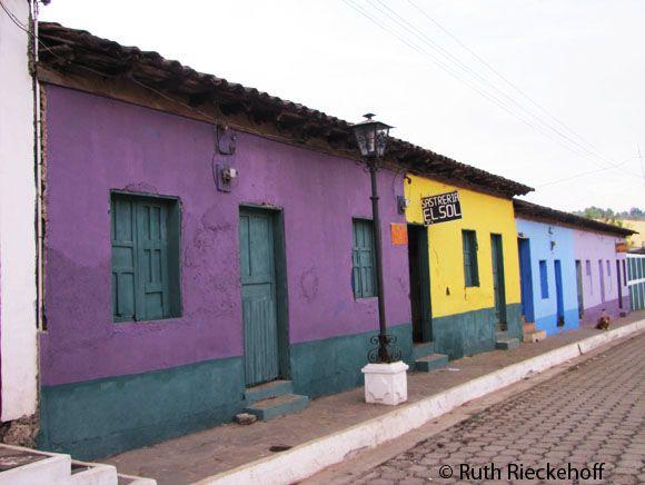 Colorful Houses Ataco El Salvador