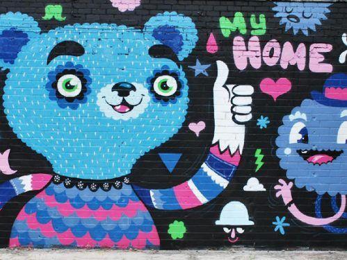 street art 10 Street artists... the world is their canvas (35 photos)