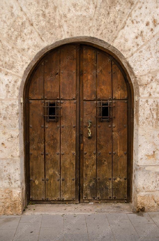 Photo of Middelalders tre dører | Gammel tredør Gamle tredør fra middelalderen.