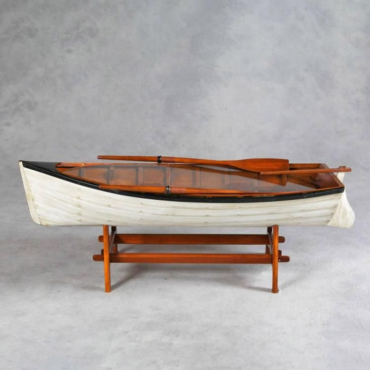 Best Vintage Row Boat Coffee Table Coffee Table Setting 400 x 300