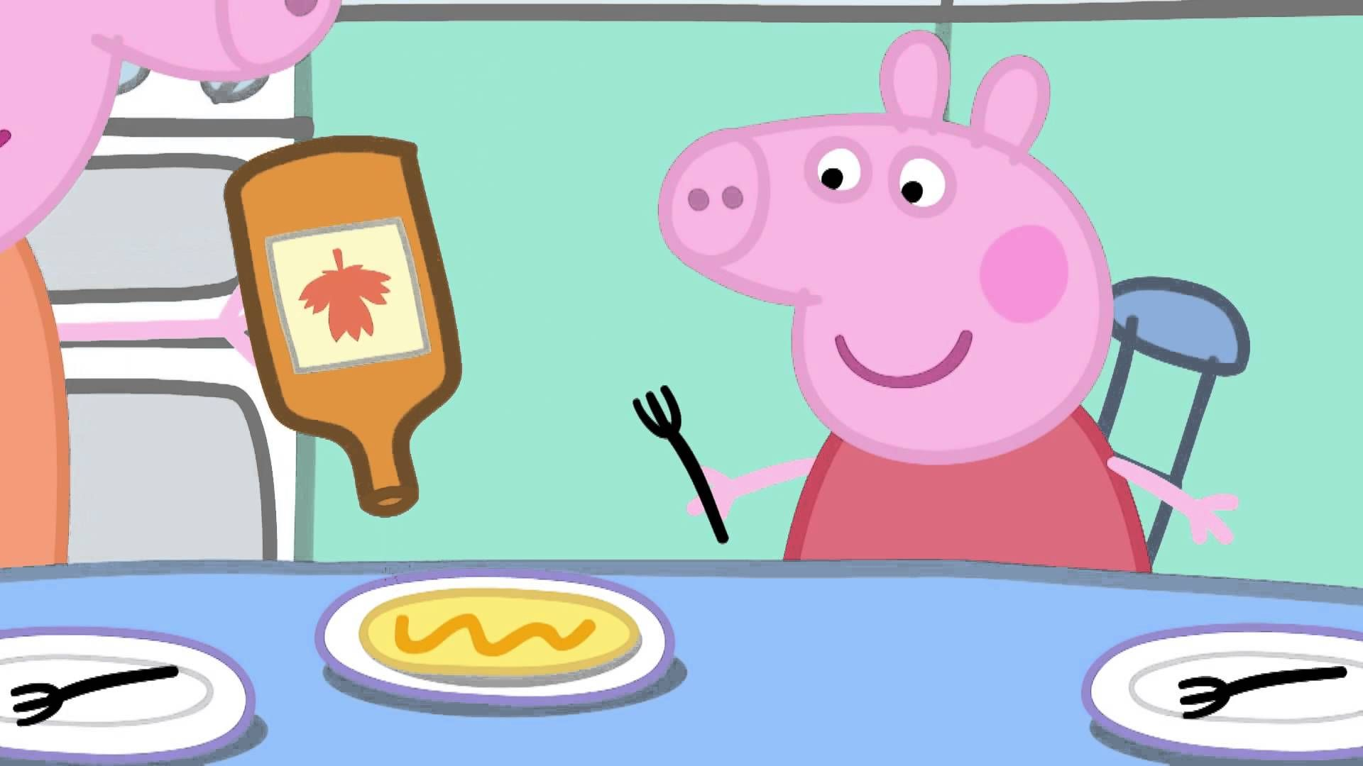 Peppa Pig: Pancakes. Cartoons for Kids/Children