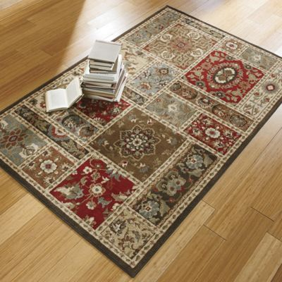 Bristol Square Rug From Country Door Designed With Blocks Of Rich Color In A Variety